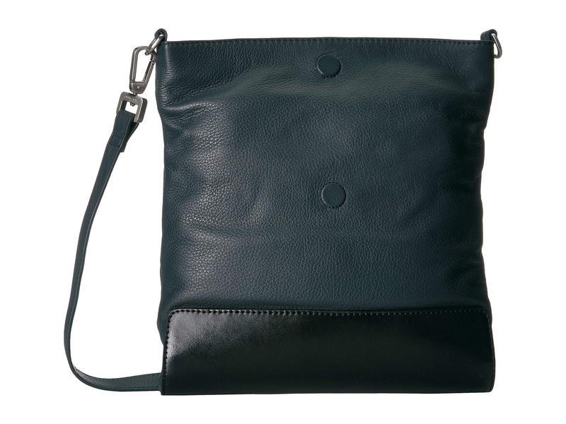 モレスキン メンズ ハンドバッグ バッグ Classic Leather Crossbody Bag Sapphire Blue