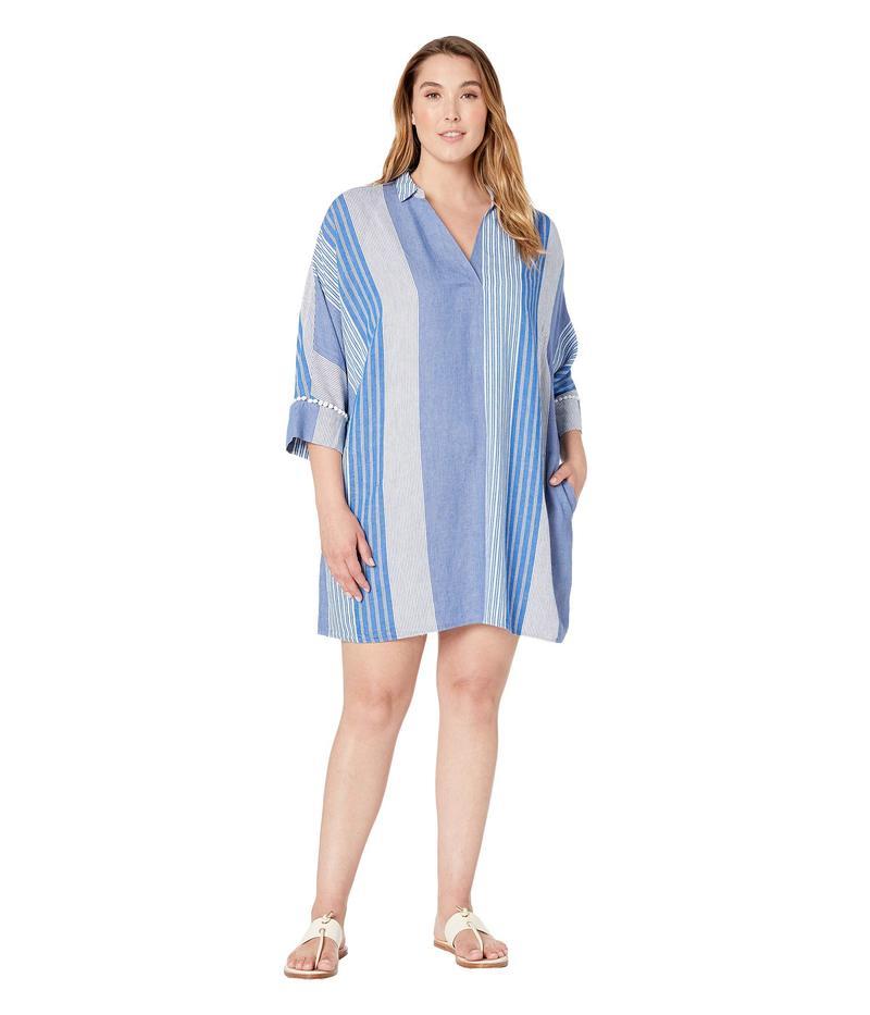 ニックプラスゾーイ レディース ワンピース トップス Plus Size Fiji Linen Dress Multi