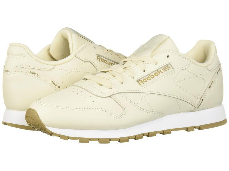 リーボック レディース スニーカー シューズ Classic Leather Alabaster/Thatch/White