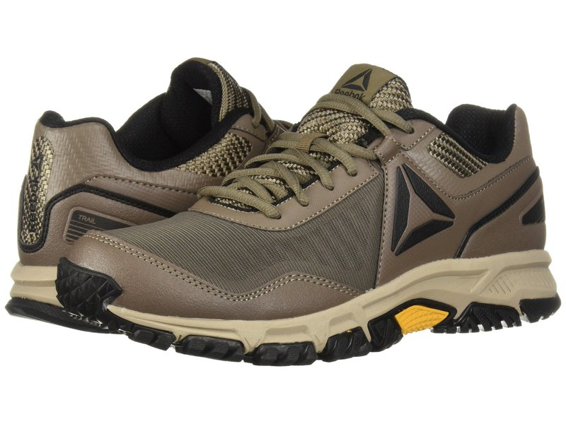 リーボック メンズ スニーカー シューズ Ridgerider Trail 3.0 Trek Grey/Khaki/Coal/Ash Grey/Collegiate Gold