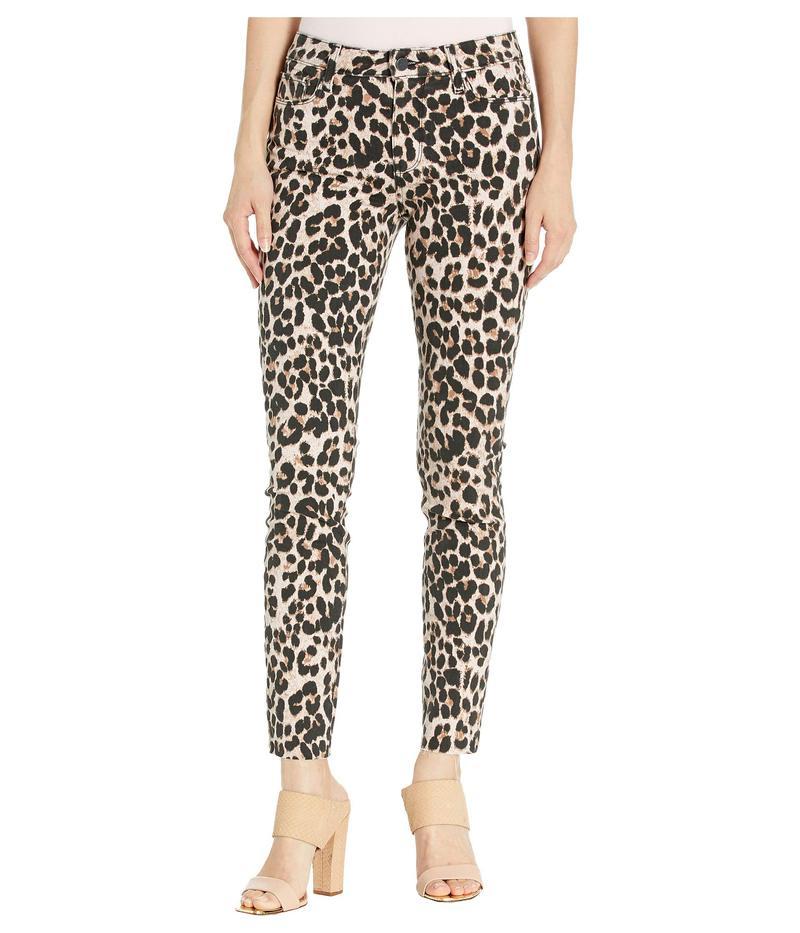 ペイジ レディース デニムパンツ ボトムス Hoxton Ankle w/ Raw Hem in Pink Leopard Pink Leopard