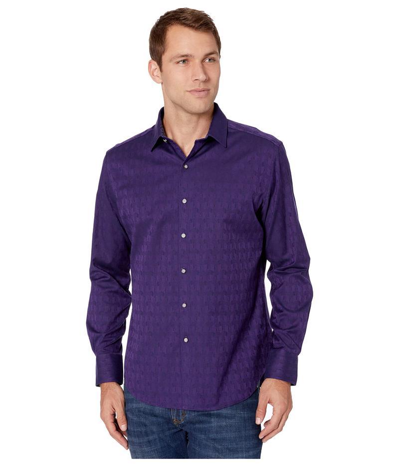ロバートグラハム メンズ シャツ トップス Atlas Shirt Dark Purple