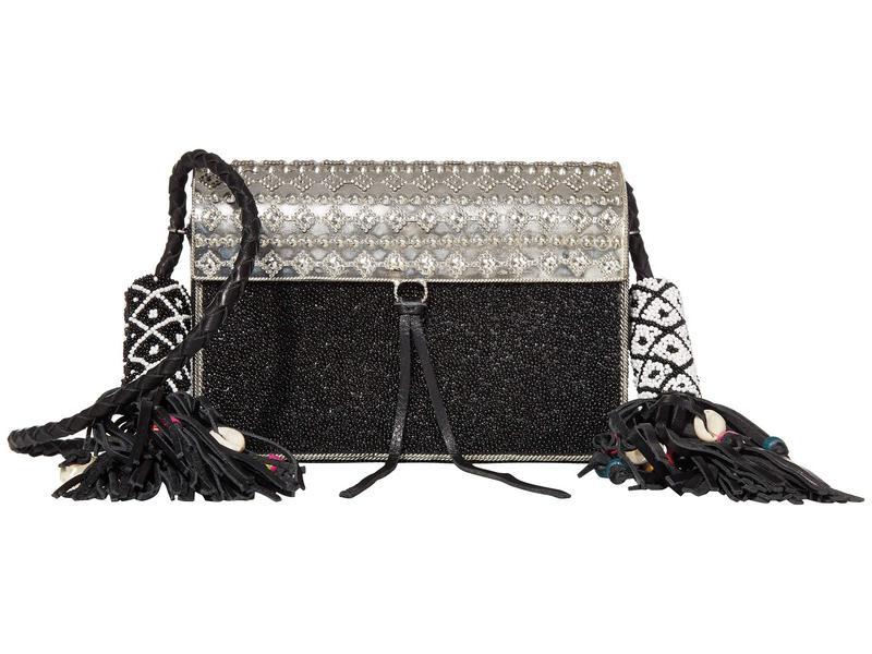 サムエデルマン レディース ハンドバッグ バッグ Indigo Beaded Iron Bag Black