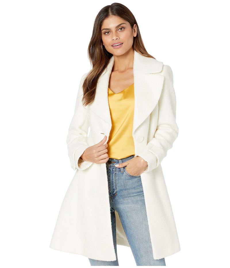 サムエデルマン レディース コート アウター Fit-and-Flare Wool Coat White