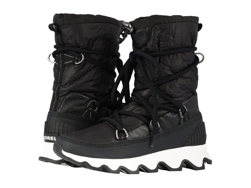 ソレル レディース ブーツ・レインブーツ シューズ Kinetic¢ Boot Black/White