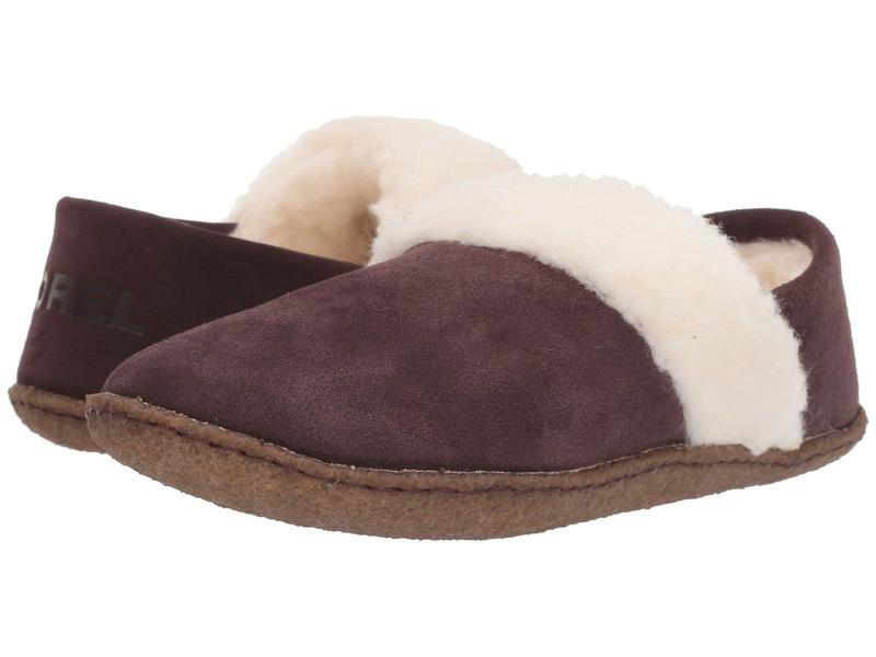 ソレル レディース サンダル シューズ Nakiska¢ Slipper II Cattail/Natural 2