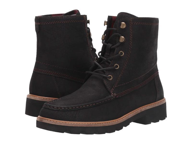 スペリー レディース ブーツ・レインブーツ シューズ A/O Leather Lug Boot Black