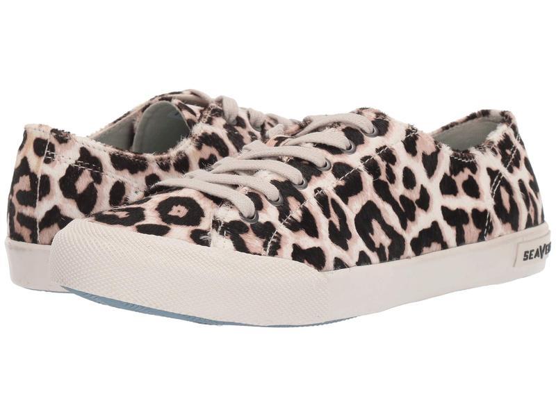 シービーズ レディース スニーカー シューズ Monterey Sneaker Mulholland Snow Leopard
