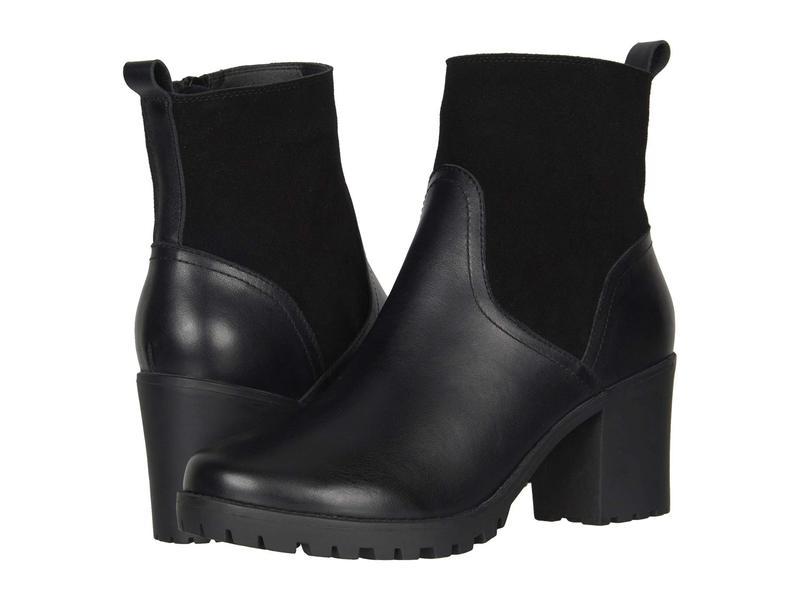 ソルドス レディース ブーツ・レインブーツ シューズ Dani Shearling Platform Boot Black