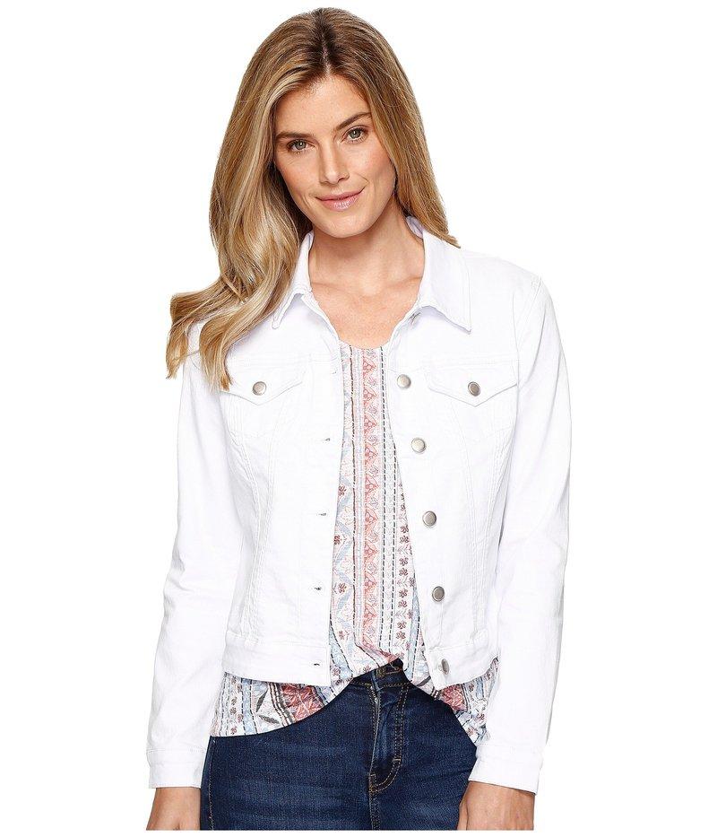 トリバル レディース コート アウター Dream Jeans Jacket White