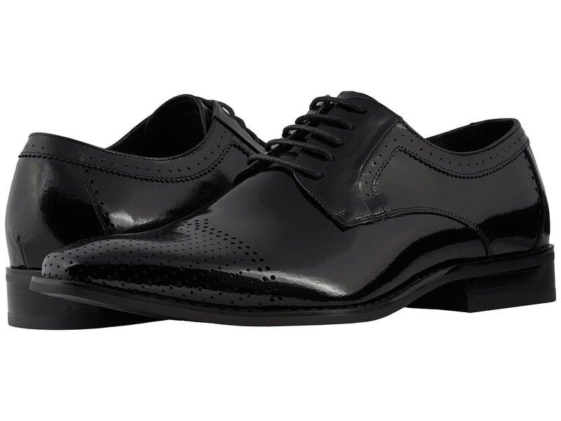 ステイシーアダムス メンズ オックスフォード シューズ Sanborn Cap Toe Oxford Black