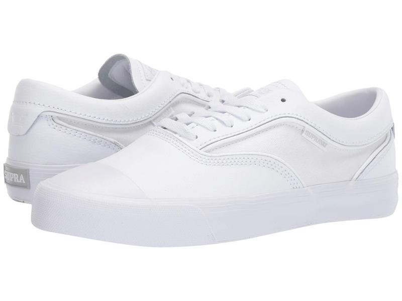 スープラ メンズ スニーカー シューズ Hammer VTG White/White