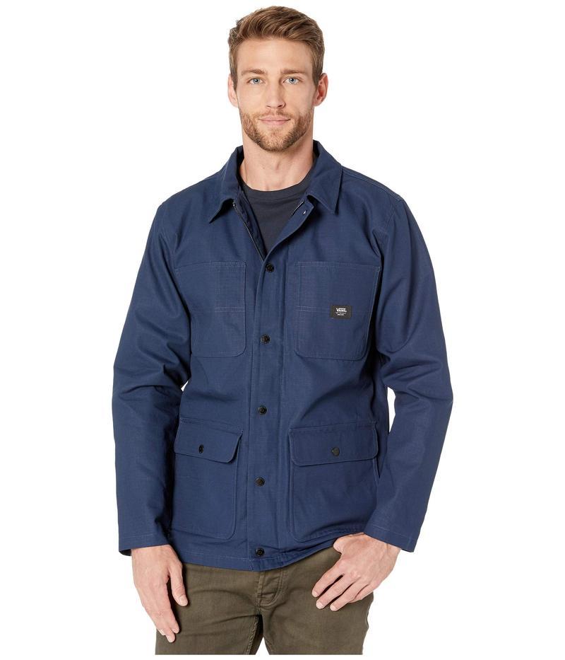 バンズ メンズ コート アウター Drill Chore Coat Jacket Dress Blues (Ripstop)