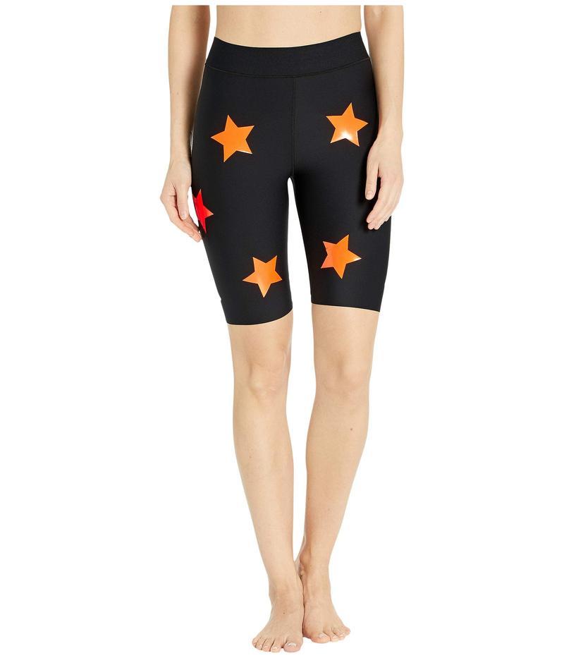 ウルトラコール レディース ハーフパンツ・ショーツ ボトムス Aero Lux Knockout Shorts Nero/Neon Orange