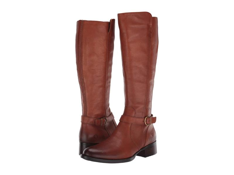 ボーン レディース ブーツ・レインブーツ シューズ Cosna Brown Full Grain Leather