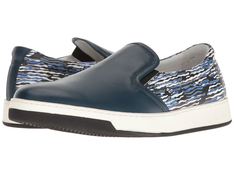 ブガッチ メンズ スニーカー シューズ Art Basel Sneaker Petrolio