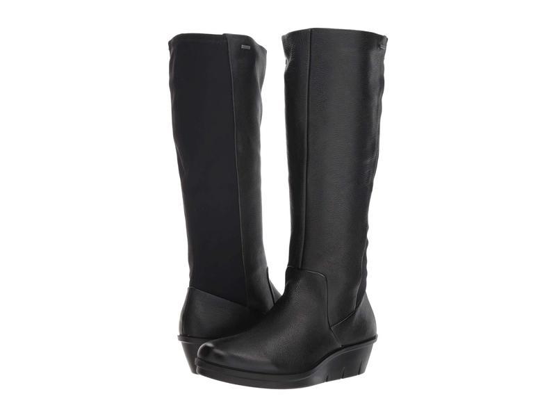 エコー レディース ブーツ・レインブーツ シューズ Skyler GORE-TEX Tall Boot Black/Black