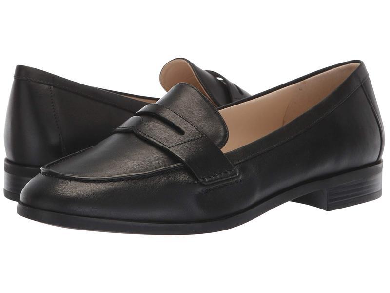 コールハーン レディース スリッポン・ローファー シューズ Pinch Grand Penny Loafer Black Leather