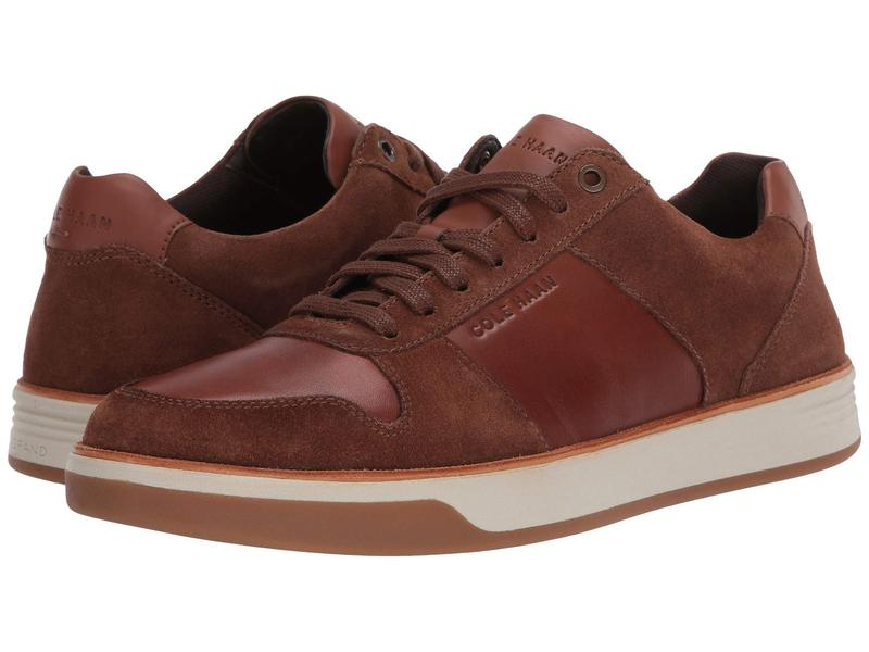 コールハーン メンズ スニーカー シューズ Grand Crosscourt Crafted Sneaker Habana/Lumber 1