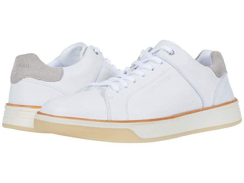 コールハーン メンズ スニーカー シューズ Grand Crosscourt Crafted Sneaker Ivory