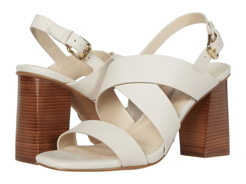 コールハーン レディース ヒール シューズ Cynthia Block Heel Sandal 85mm Pumice Stone Leather