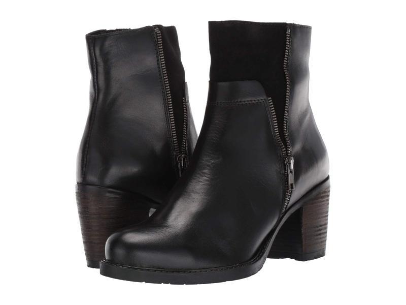 エリックミカエル レディース ブーツ・レインブーツ シューズ Riva Black Leather