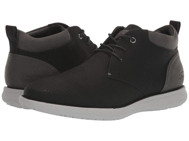 ジーエイチバス メンズ ブーツ・レインブーツ シューズ Benton Tumbled Black/Charcoal