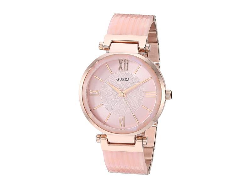 ゲス レディース 腕時計 アクセサリー U0638L9 Rose Gold/Pink