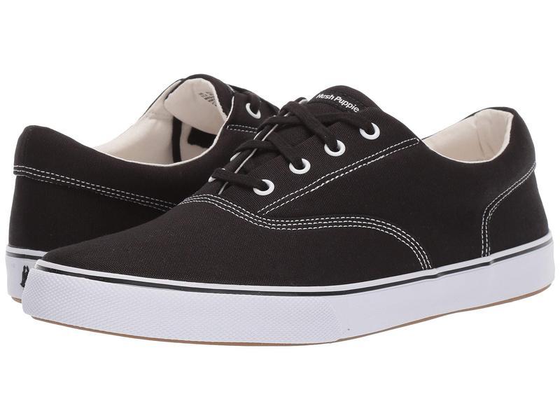 ハッシュパピー メンズ スニーカー シューズ Chandler Sneaker Black Canvas