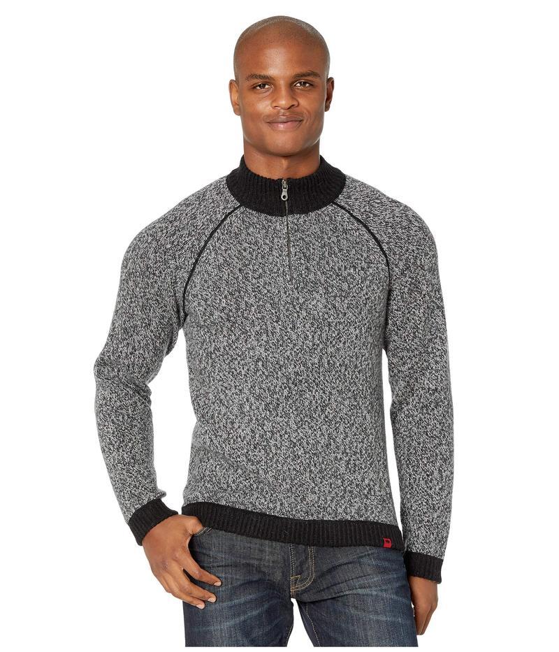 マウンテンカーキス メンズ ニット・セーター アウター Crafted 1/4 Zip Sweater Black
