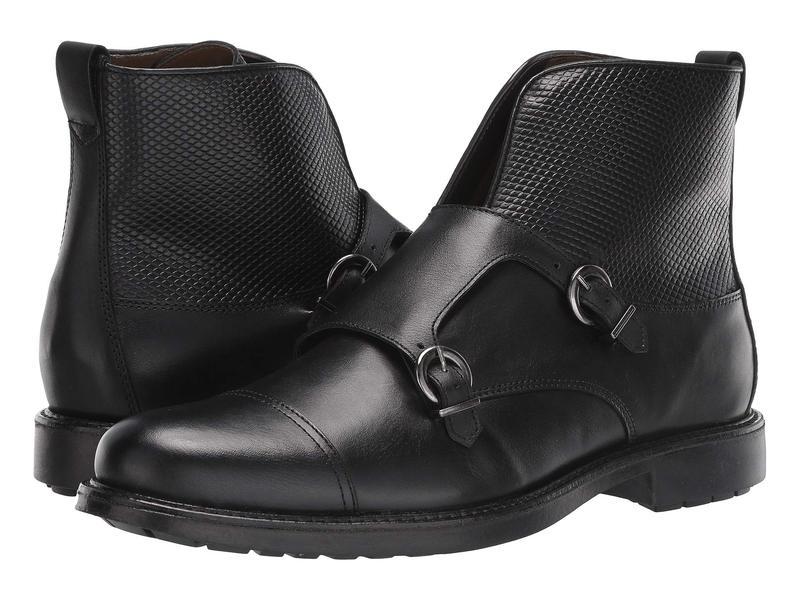 マッシモマッテエロ メンズ ブーツ・レインブーツ シューズ Double Monk Boot Black