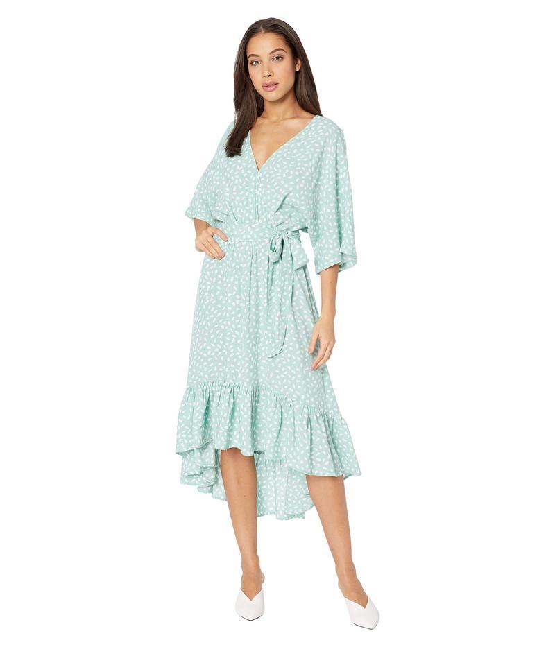 ミンクピンク レディース ワンピース トップス Alannah Midi Dress Turquoise