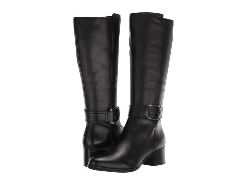 ナチュライザー レディース ブーツ・レインブーツ シューズ Daelynn Black Leather