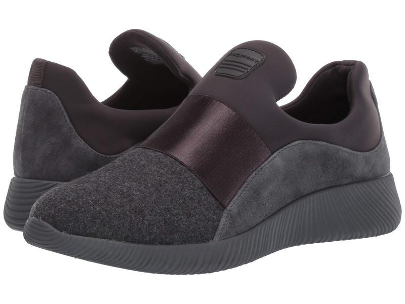 ロックポート レディース スニーカー シューズ City Lites Robyne Slip-On Grey Wool