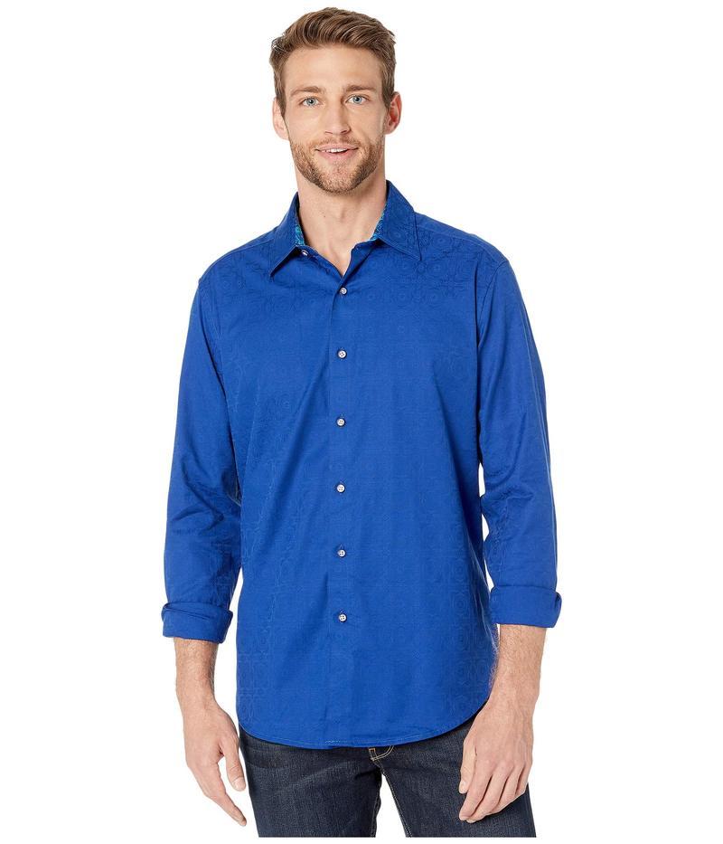 ロバートグラハム メンズ シャツ トップス Keaton Long Sleeve Shirt Blue