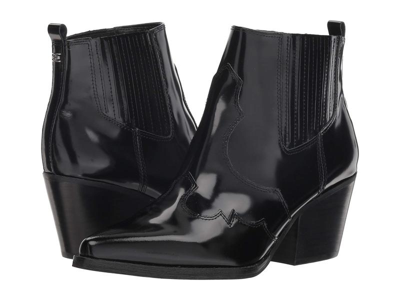 サムエデルマン レディース ブーツ・レインブーツ シューズ Winona Black Brush Off Box Leather