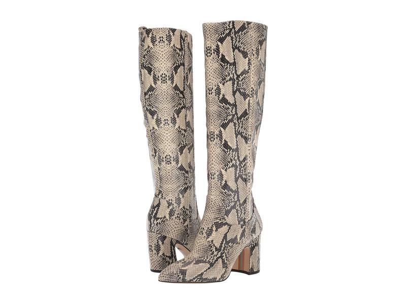 サムエデルマン レディース ブーツ・レインブーツ シューズ Hai Beach Multi Pacific Snake Print Leather