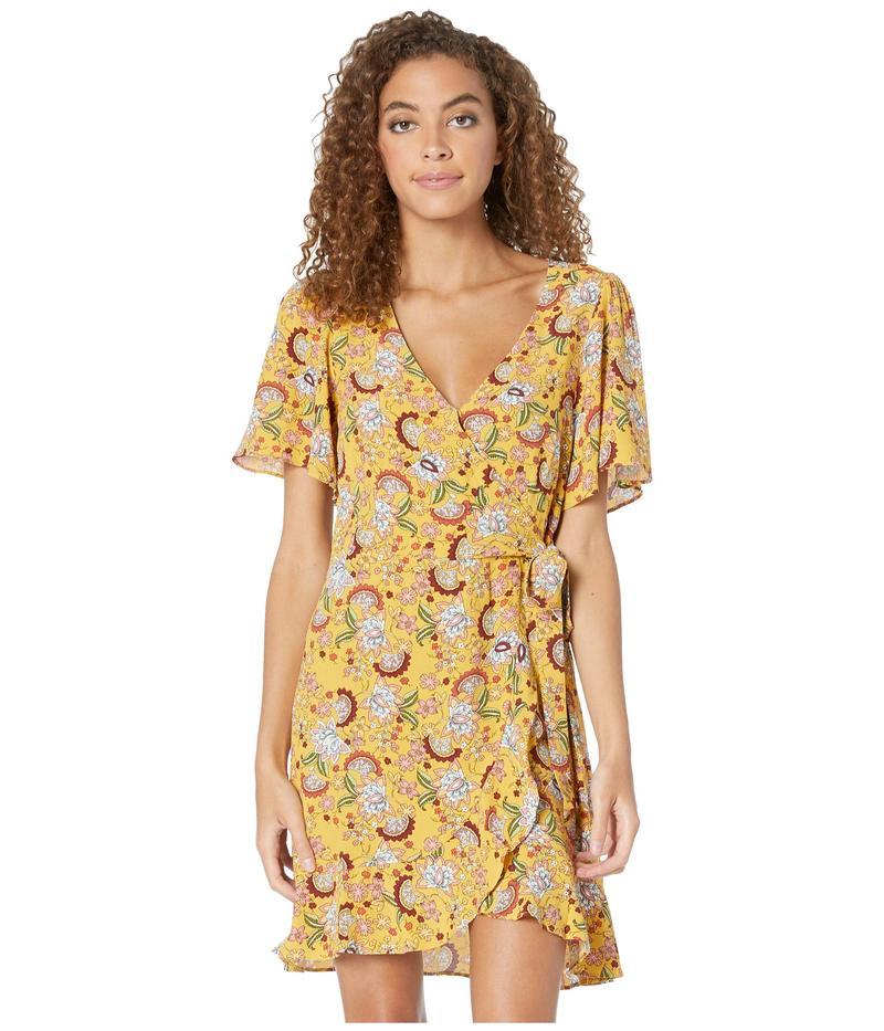 サンクチュアリー レディース ワンピース トップス Sassy Wrap Dress Sunrays