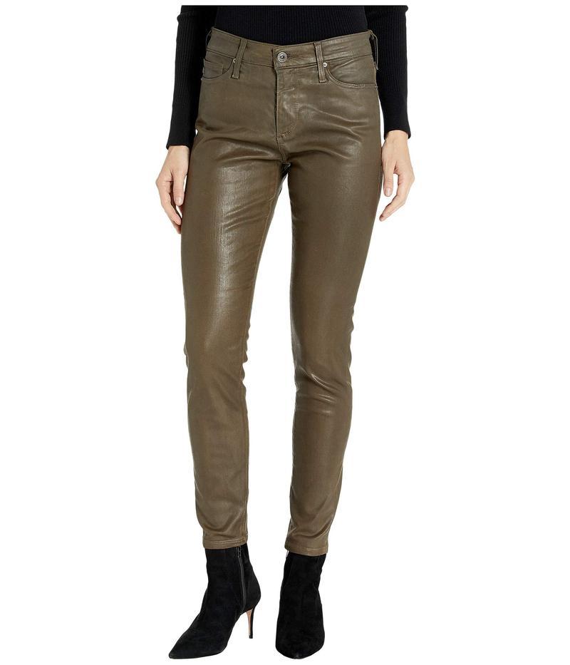 エージー アドリアーノゴールドシュミット レディース カジュアルパンツ ボトムス Farrah Skinny Ankle in Vintage Leatherette Light Dark Bayou Vintage Leatherette Light Dark Bayou