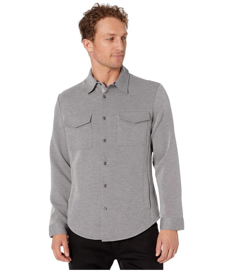 ロバートグラハム メンズ シャツ トップス Tailored Fit Navarre Knit Shirt Grey