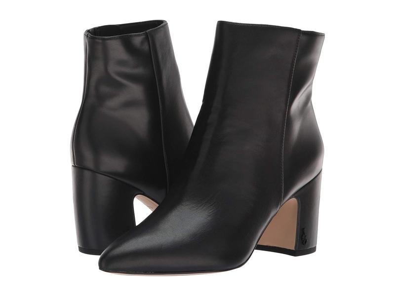 サムエデルマン レディース ブーツ・レインブーツ シューズ Hilty Black Modena Calf Leather