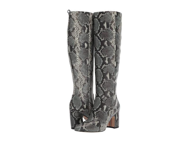 サムエデルマン レディース ブーツ・レインブーツ シューズ Hai Mint Multi Exotic Snake Print