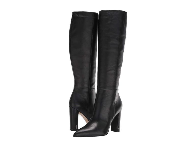 サムエデルマン レディース ブーツ・レインブーツ シューズ Raakel Black Modena Calf Leather
