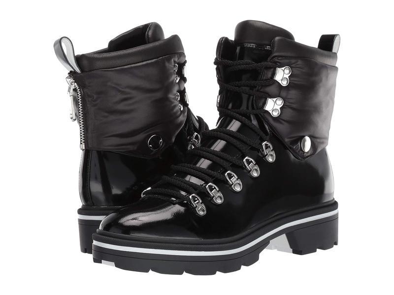 シガーソン モリソン レディース ブーツ・レインブーツ シューズ Macre Black Leather/Nylon