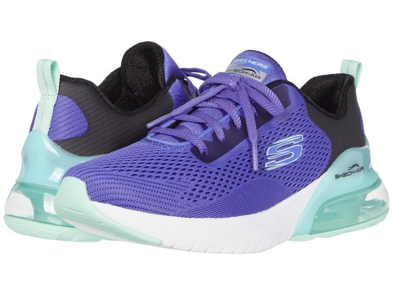 スケッチャーズ レディース スニーカー シューズ Skech-Air Stratus Wind Breeze Purple/Turquoise