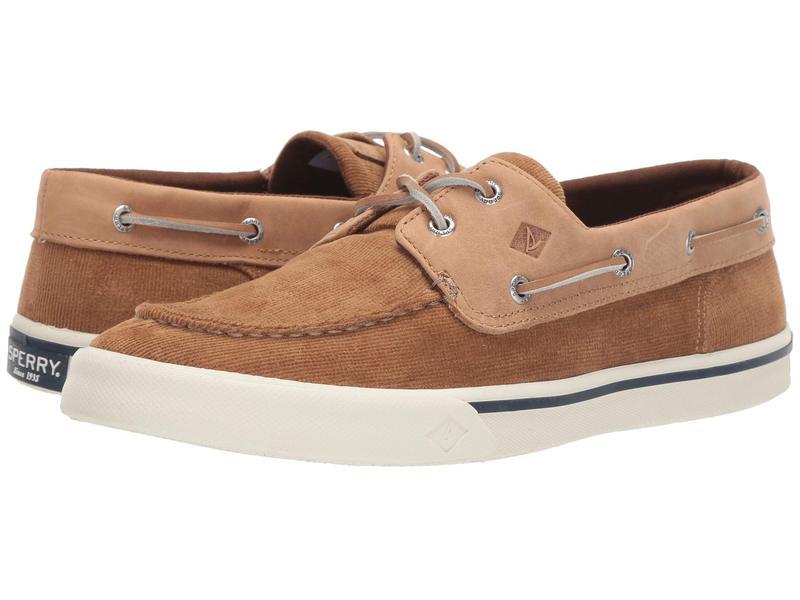 スペリー メンズ スニーカー シューズ Bahama II Corduroy Sneaker Tan