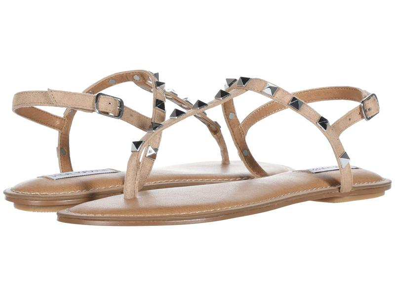 スティーブ マデン レディース サンダル シューズ Generate Flat Sandal Tan