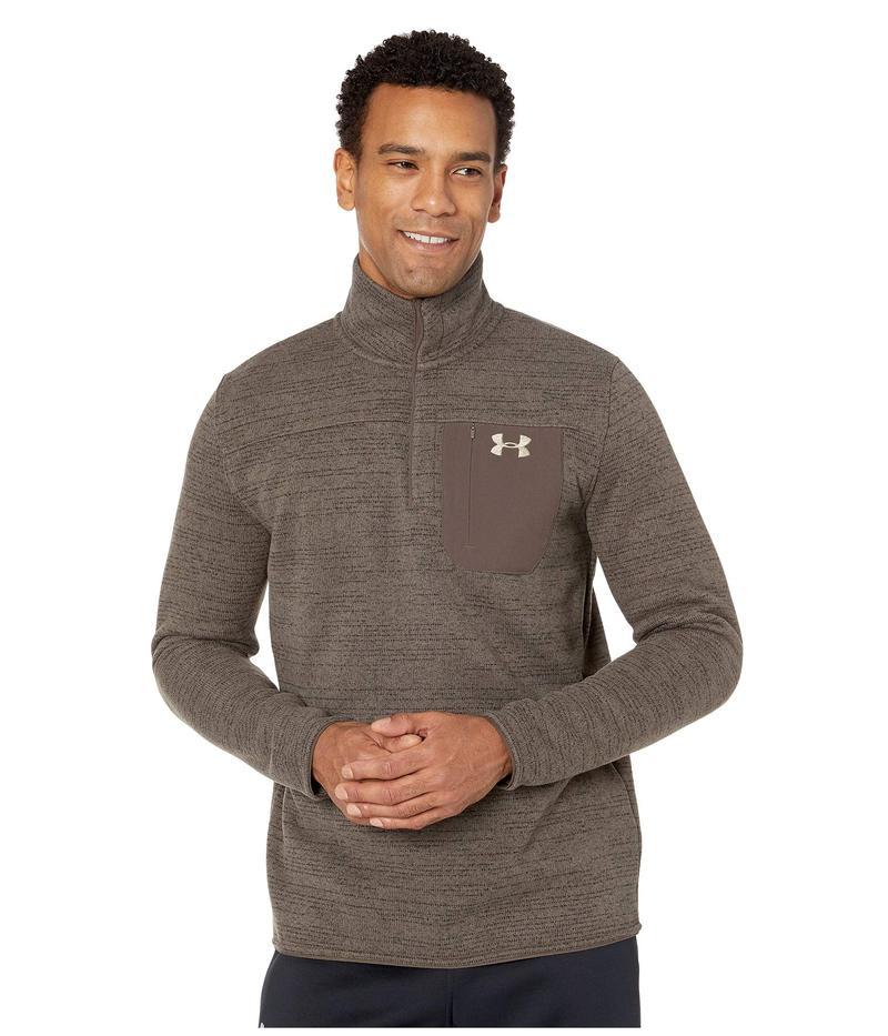 アンダーアーマー メンズ ニット・セーター アウター UA Specialist Henley 2.0 Maverick Brown/Maverick Brown/Maverick Brown