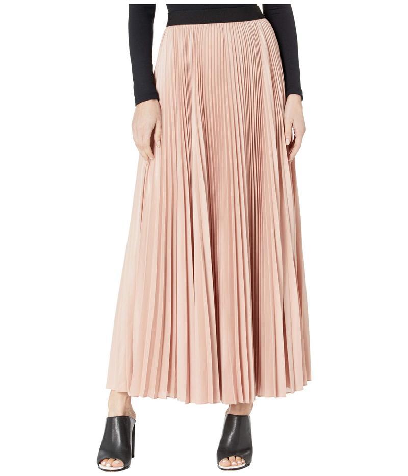 ビーシービージーマックスアズリア レディース スカート ボトムス Dallin Sunburst Pleated Skirt Antique Rose