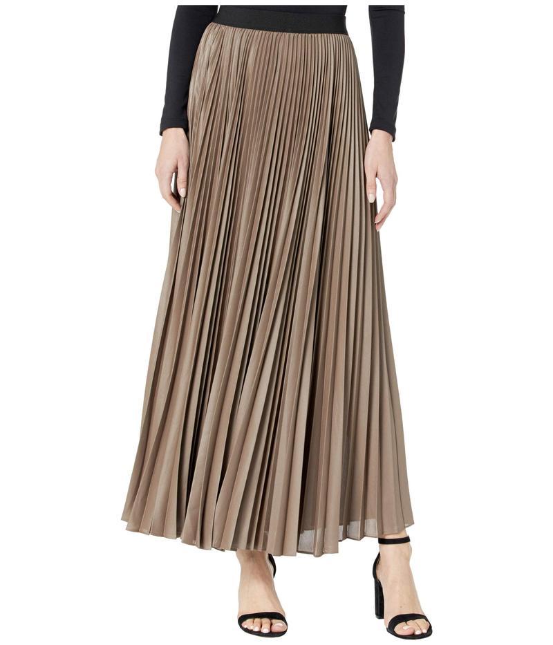 ビーシービージーマックスアズリア レディース スカート ボトムス Dallin Sunburst Pleated Skirt Fatigue